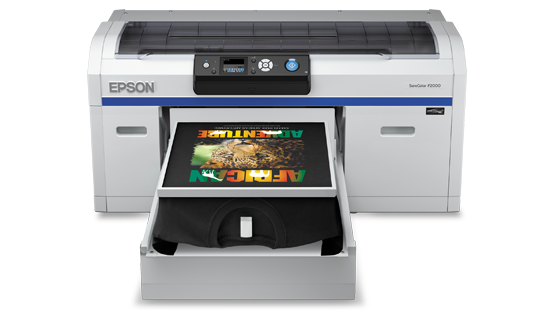 Wink printer solutions epson surecolor sc f2000 for T shirt manufacturing machine in india